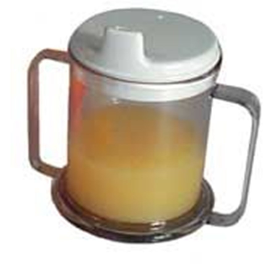 Allied Medical Parsons Double Handled Mug With Lid