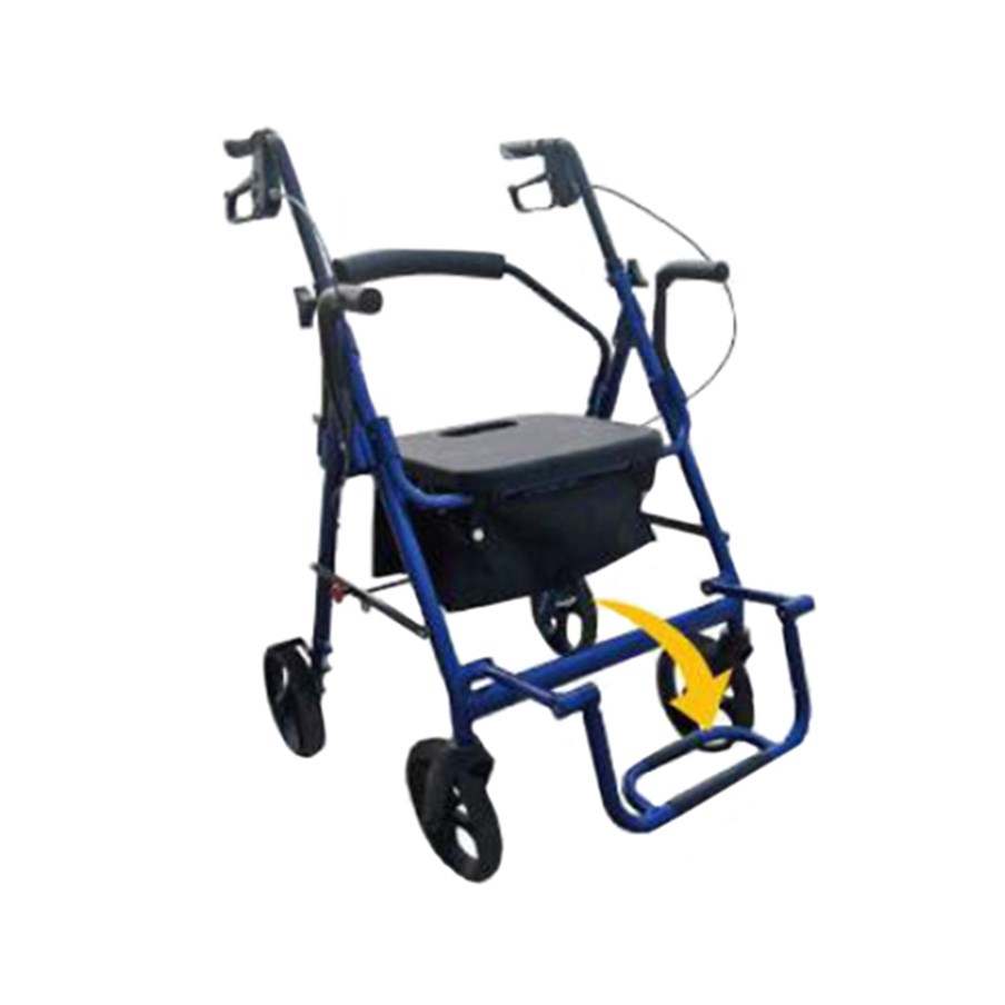 This image has an empty alt attribute; its file name is rollator-transfer-chair.jpg.product.ashx